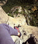 Rock Climbing Photo: The pitch above the Jungle Ledge and your way out ...