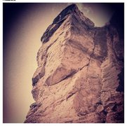 Rock Climbing Photo: Burly!! 11d OS for certain!