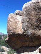 Rock Climbing Photo: The Bamba Wall. It faces west.