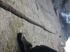 Rock Climbing Photo: steep hands forever