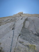 Rock Climbing Photo: Third pitch on the North Buttress Var.