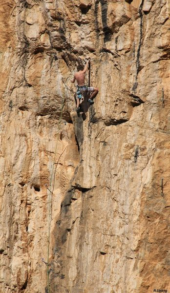 Ben starts the hard stuff<br> Bella Dona/GlueFa (5.13)