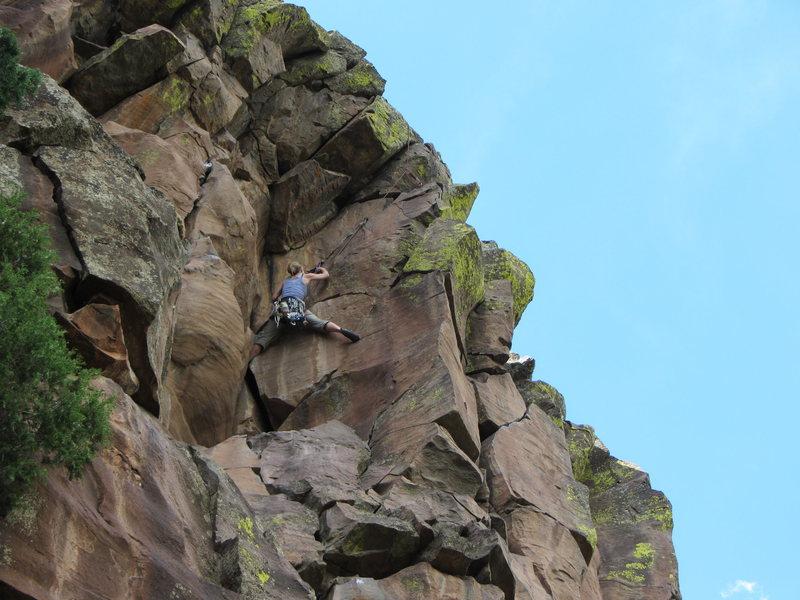 Rock Climbing Photo: The HBomb....
