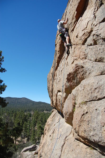 First route of the day. Fun moves.