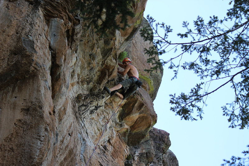 summer cragging in the san Francisco peaks