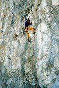 Rock Climbing Photo: Strange as Angels (5.11c), Williamson Rock