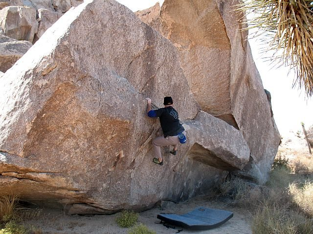 Elbow Grease (V1), Joshua Tree NP