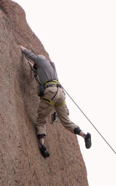 Rock Climbing Photo: projecting brah'