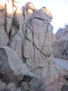 Rock Climbing Photo: Easy access. Right next to the road