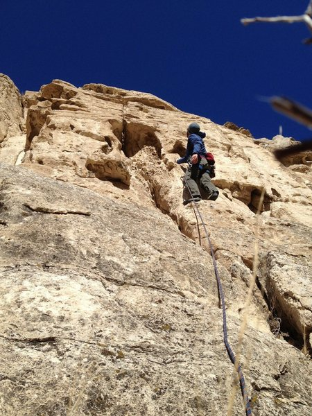 Rock Climbing Photo: highway patrol