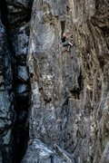 Rock Climbing Photo: Dylan on Separation Anxiety .11d. Emeralds Upper G...
