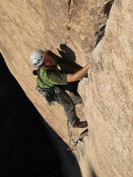 Rock Climbing Photo: Erik Kramer-Webb on Illusion Dweller.  photo by bo...
