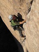 Rock Climbing Photo: Erik Kramer-Webb on Illusion Dweller.  photo by bo...