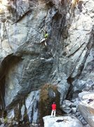 Rock Climbing Photo: Mike and Josh working Game of Thrones .12c. Emeral...