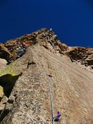 Rock Climbing Photo: The Legendary Davito Hammack on the sweet arete du...