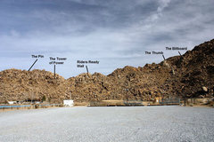 Rock Climbing Photo: BMX Crags overview, Apple Valley Crags