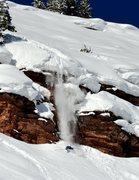 Rock Climbing Photo: Go big!  Skier: Austin Porzak Photo: JC powdays.co...