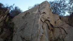 Rock Climbing Photo: The Fermi Level