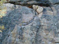 Rock Climbing Photo: The top half of Fakir