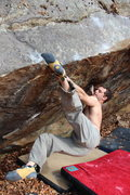 Rock Climbing Photo: Josh Hepler on Destro