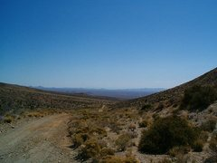 Rock Climbing Photo: Vulcan Mine Road, Mojave National Preserve