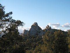 Rock Climbing Photo: Mid Hills Dome, Mojave National Preserve