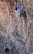 Rock Climbing Photo: Leo & Pete during the FA of Tufa Consequences (5.1...
