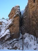 Rock Climbing Photo: VPL from the approach to Hourglass