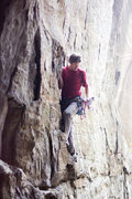 Rock Climbing Photo: A red tricam sinks in pretty well between the 2nd ...