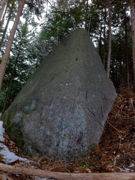 Rock Climbing Photo: Soft Slab Boulder