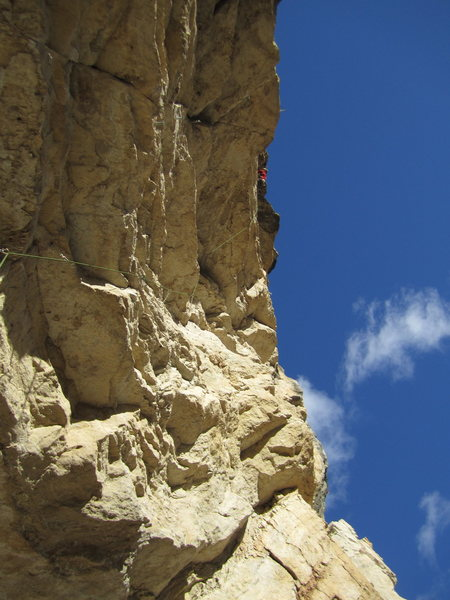 hope there is a climber in this photo?