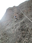 Rock Climbing Photo: daniel on the sponge