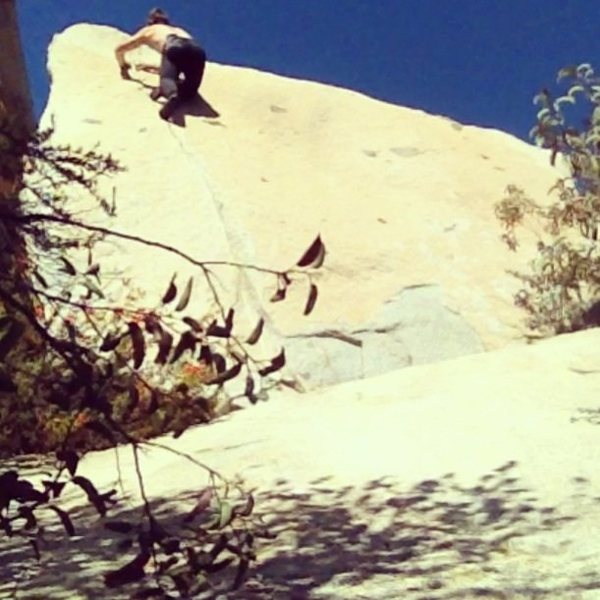Rock Climbing Photo: Finishing moves