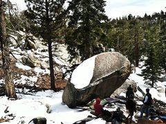 Rock Climbing Photo: Seven boulder