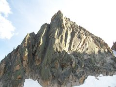 Rock Climbing Photo: Tiptoes goes up just right of the arete across fro...