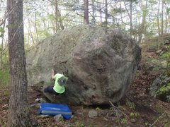 Rock Climbing Photo: Ricochet v3 balance rock