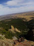 Rock Climbing Photo: Nearing the summit.