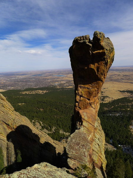 Rock Climbing Photo: Perfect Feb. day.