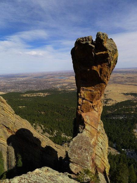 Rock Climbing Photo: Perfect Feb. day.