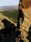 Rock Climbing Photo: The hand traverse.