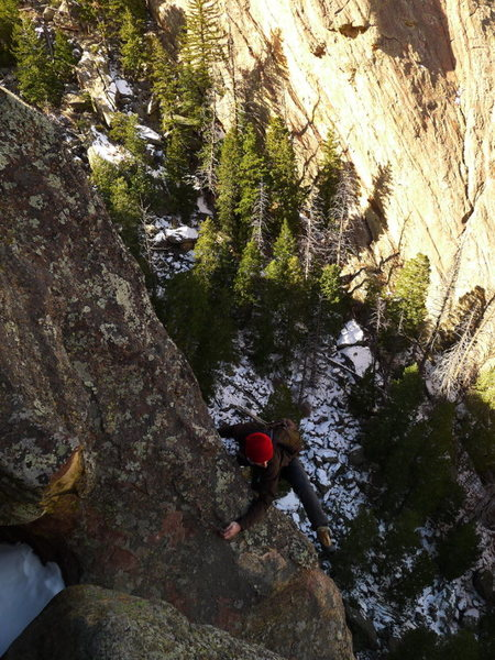 Rock Climbing Photo: The steparound.