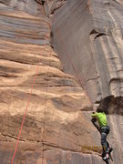 Rock Climbing Photo: The whole route, it has plenty of great rests!