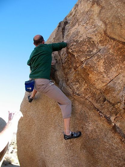 Dike Face (V5), Joshua Tree NP