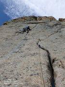 Rock Climbing Photo: Sideliner at Lumpy Ridge