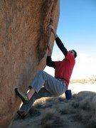 Rock Climbing Photo: Mirage (V2), Joshua Tree NP