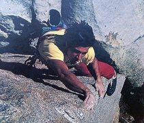 Rock Climbing Photo: Tony Yaniro on Scirocco (5.12a), The Needles  Phot...