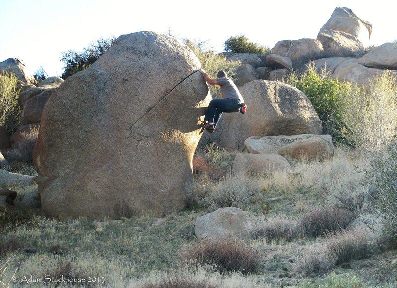 Chris climbs!