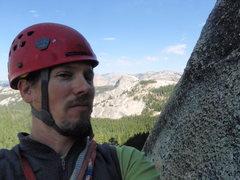 Rock Climbing Photo: me Tuolomne
