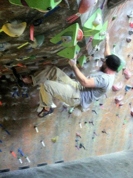 Rock Climbing Photo: Gym boulder