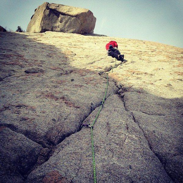 Rock Climbing Photo: Coffin Crack, Rob Duncan